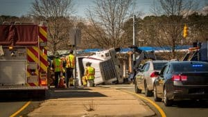 Crashes Involving Buses and Large Trucks Are on the Rise